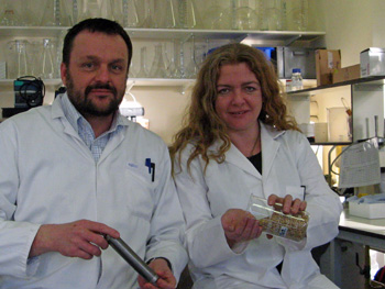 Drs Graeme Paton and Leigh Cassidy