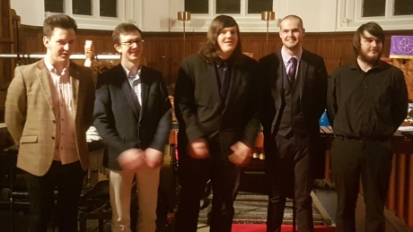 Carlaw/Ogston Composition Competition Finalists