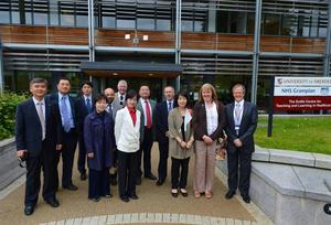 Members of the University of Aberdeen and Eulji University