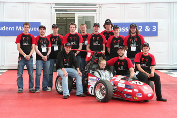 Roaring Success At Silverstone For Student Racing Car Team News