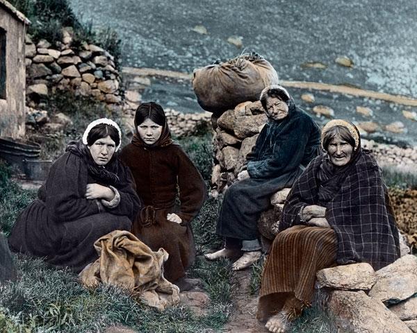 into scotland in the 1800s