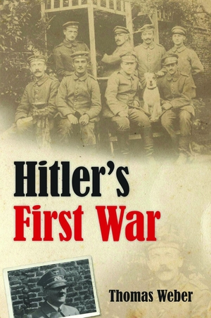 front cover of book Hitler's First War