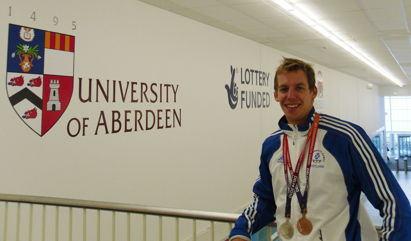 Commonwealth medal winners welcome progress towards an - Aberdeen university swimming pool ...