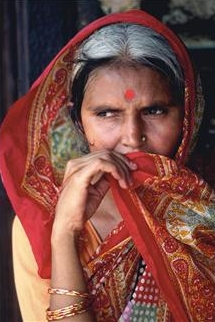 Indian village lady