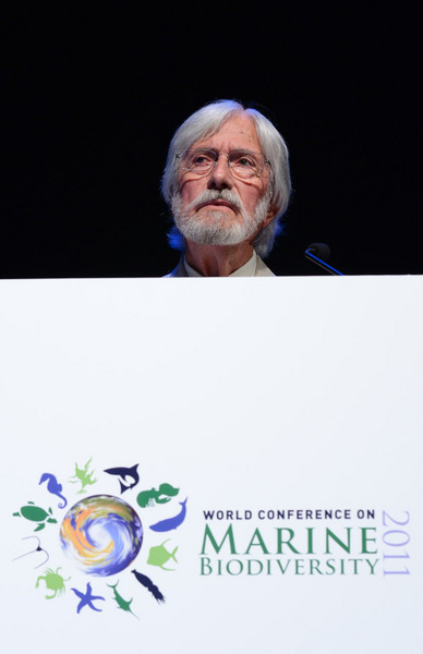 Hitting start to first day of world marine biodiversity conference