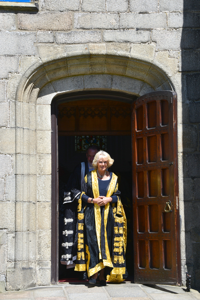 HRH The Duchess of Rothesay and Chancellor of the University of Aberdeen