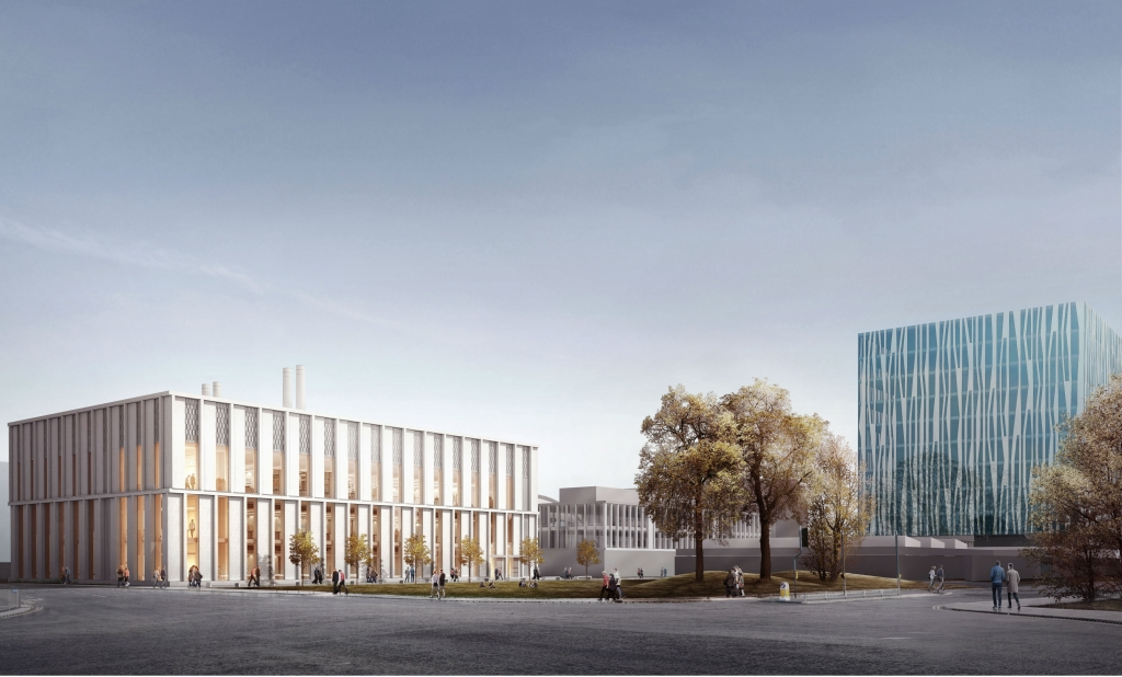 aberdeen science hub teaching university campus uni plans library 35m robertson pound million multi starts planned duncan sir rice located