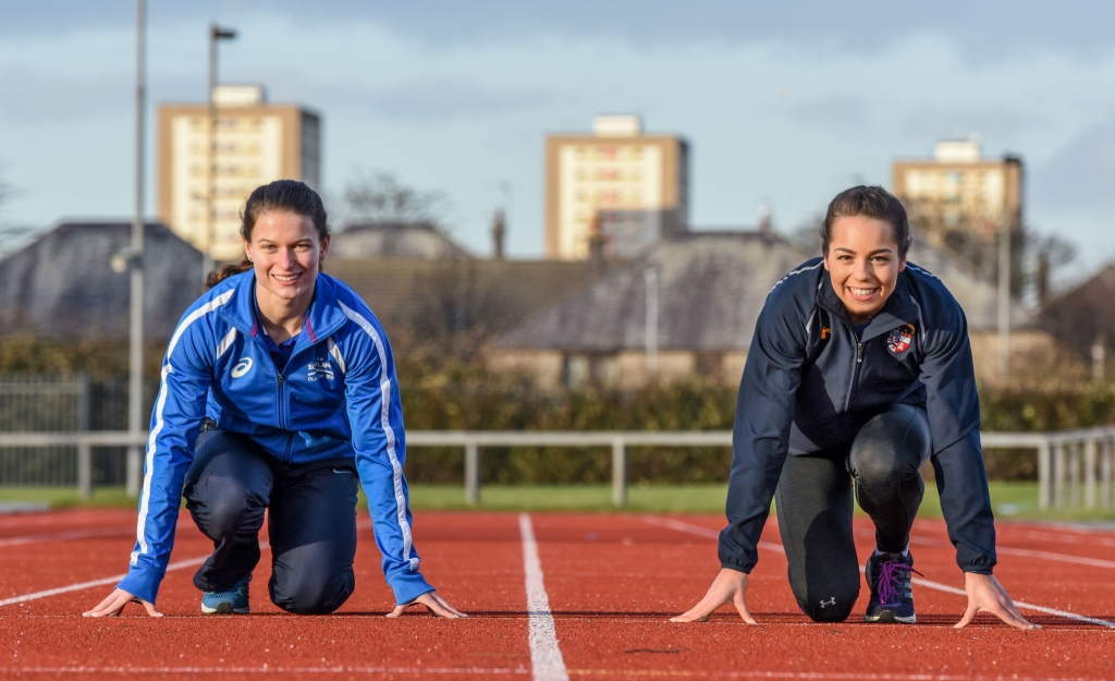 e9f8e20e7 Zoey Clark (left) and Kelsey Stewart are looking ahead to qualification for  next year's Commonwealth Games in Australia