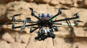 University of Aberdeen academic using unmanned flying drones to help identify oil reserves
