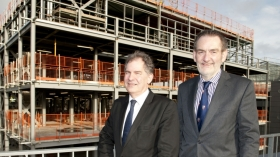 Professor Peter Morgan, , Director of the Rowett Institute and a Vice Principal at the University of Aberdeen and Professor Sir Ian Diamond, Principal and Vice-Chancellor of the University of Aberdeen