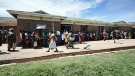 Maternity department at Bwaila hospital, Lilongwe
