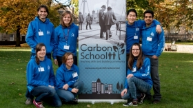 Graduates of the Aberdeen University Student Association's Carbon School