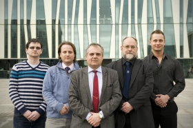 The team of scientists who have developed the technology at Technabling - a University of Aberdeen spin-out