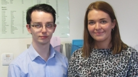 Euan Thompson and Jennifer Baird