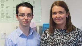 Euan Thompson and Jennifer Baird