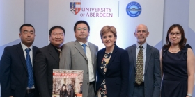 First Minister welcomes agreement with leading Chinese university