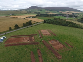 Previous excavations at Rhynie, Aberdeenshire