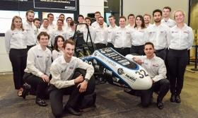 TAU Racing unveil new race car