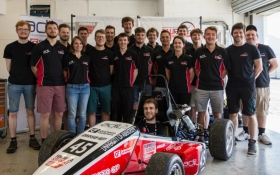 Scotland's top Formula Student team is 'Nexen' line for success