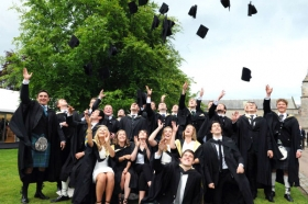 The University of Aberdeen is in the top five UK Universities for graduate employment, new data published by the Higher Education Statistics Agency has shown.