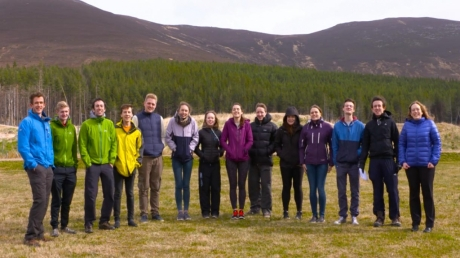 14 Aberdeen medical students were taken to the Cairngorms to experience life as a rural GP