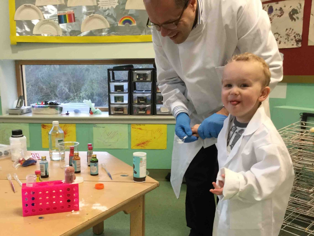Nursery School Science Classes Are Magic News The