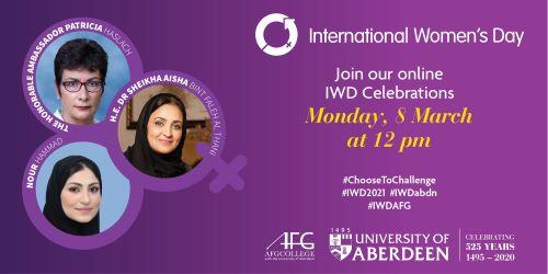 International Women's Day Speakers