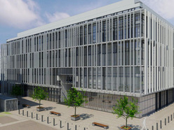 Artist's impression of the new building