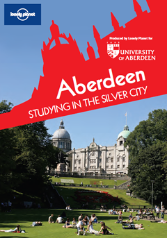 Cover of Lonely Planet guide - Aberdeen: Studying in the Silver City