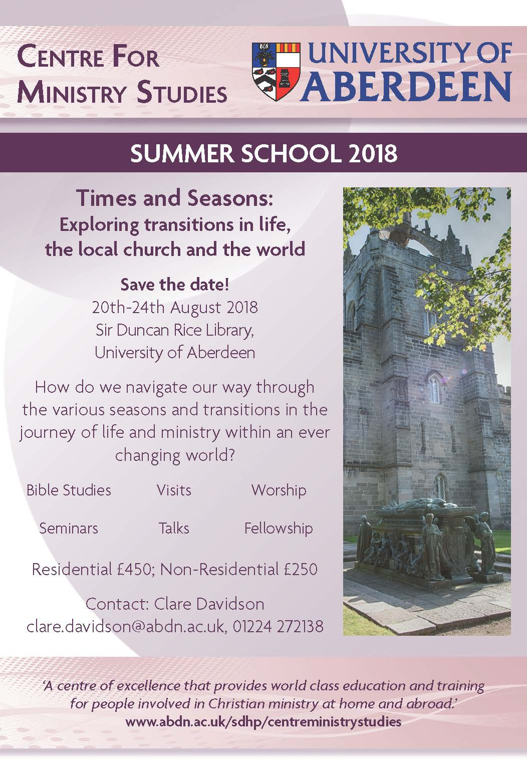 Past Events | The School of Divinity, History and Philosophy | The