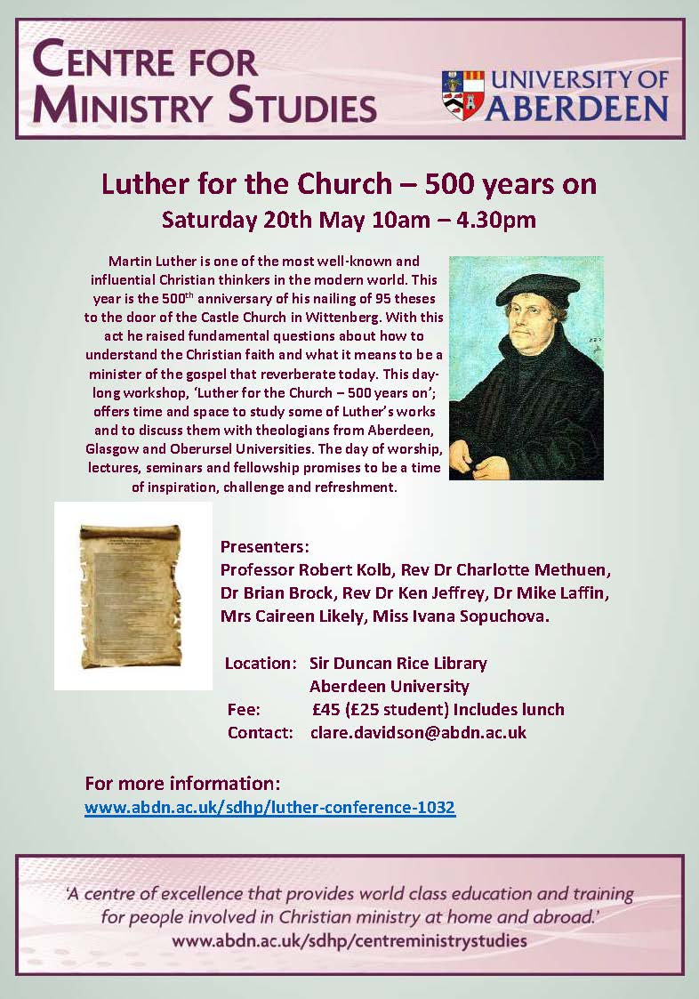 Luther Flyer