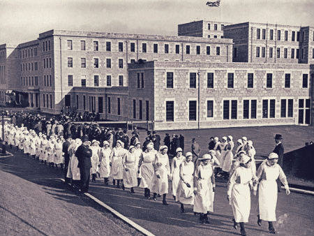Infirmary opening