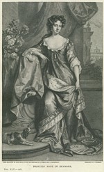 B1 015 - Queen Anne (1665-1714), Princess George of Denmark (1683-1702)