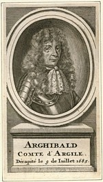 B1 034 - Archibald Campbell, 9th Earl of Argyll (d1685)
