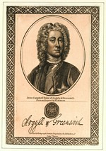 B1 038 - John Campbell, 2nd Duke of Argyll and Duke of Greenwich (1678-1743)