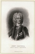 B1 043 - John Campbell, 2nd Duke of Argyll and Duke of Greenwich (1678-1743)