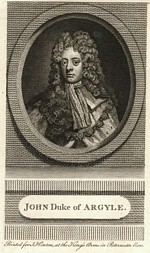 B1 047 - John Campbell, 2nd Duke of Argyll and Duke of Greenwich (1678-1743)