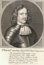 B1 082 - Sir Ewen Cameron of Lochiel (1629-1719)