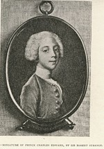 B1 095 - Prince Charles Edward Stuart, the Young Pretender (1720-1788)