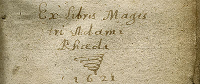 Signature of Adam Reid