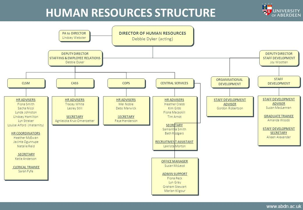 Human Resources college reports online