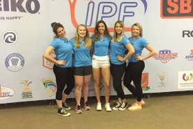 Girls power their way to world top four