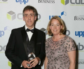 Head of Commercial Services scoops prestigious business award
