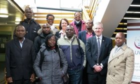 University welcomes Tanzanian visitors