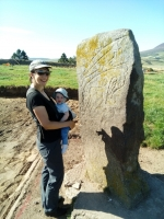 Karen, Kristofer, and the Craw Stane