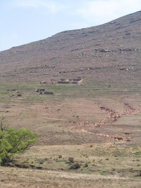 Land degradation in the Karoo, South Africa