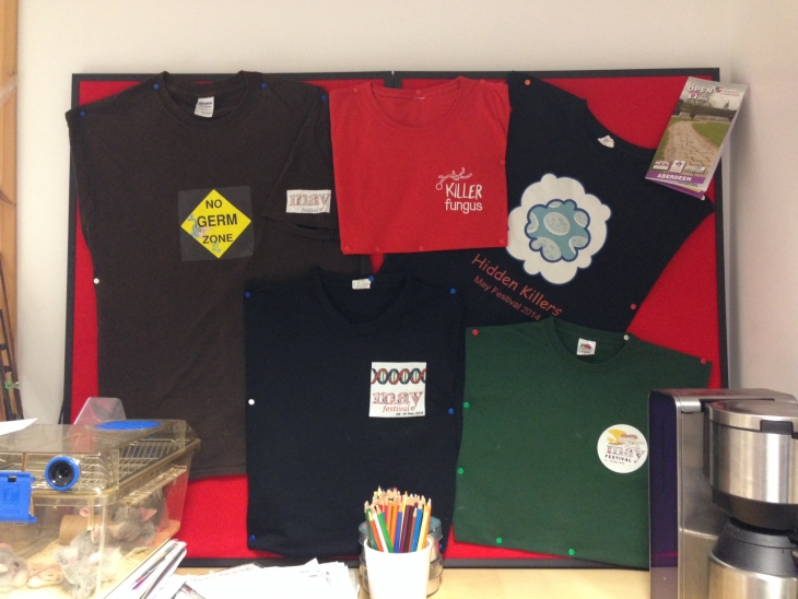 Public Engagement T-shirts