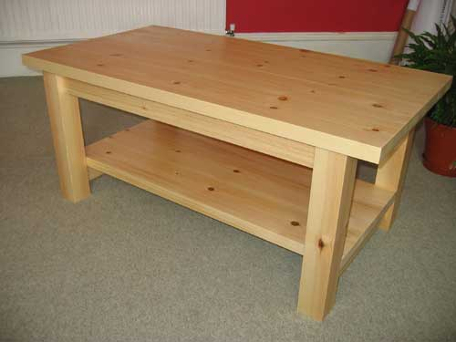 Pine coffee table plans plans diy free download simple Homemade coffee table plans