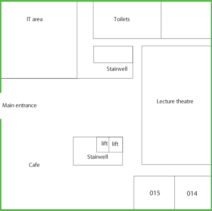 Suttie Centre Level 0 floor plan
