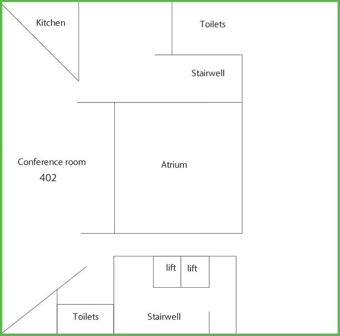 Suttie Centre Level 4 floor plan